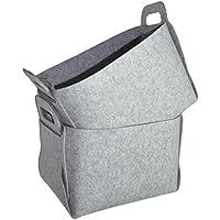 フェルトストレージバスケットビン、knocbel折り畳みホームオーガナイザーボックスキューブ、2パック