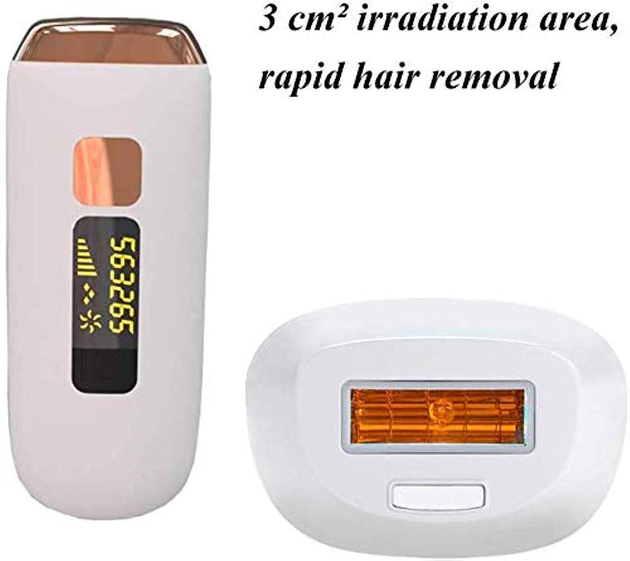 最近盆興味HSBAIS 女性と男性のためのレーザー脱毛 500,000 点滅 家庭用 無痛 常設 脱毛システム ビキニライン/足/腕/脇の下,White