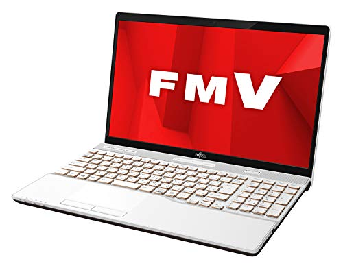 【公式】 富士通 ノートパソコン FMV LIFEBOOK AHシリーズ WA3/D1 (Windows 10 Home/15.6型ワイド液晶/Core i7/16GBメモリ/約1TB HDD/Blu-ray Discドライブ/Office Home and Business 2019/プレミアムホワイト)AZ_WA3D1_Z017/富士通WEB MART専用モデル