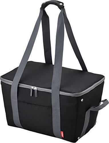 サーモス 保冷 買い物カゴ用バッグ 約25L ブラック REJ-025 BK