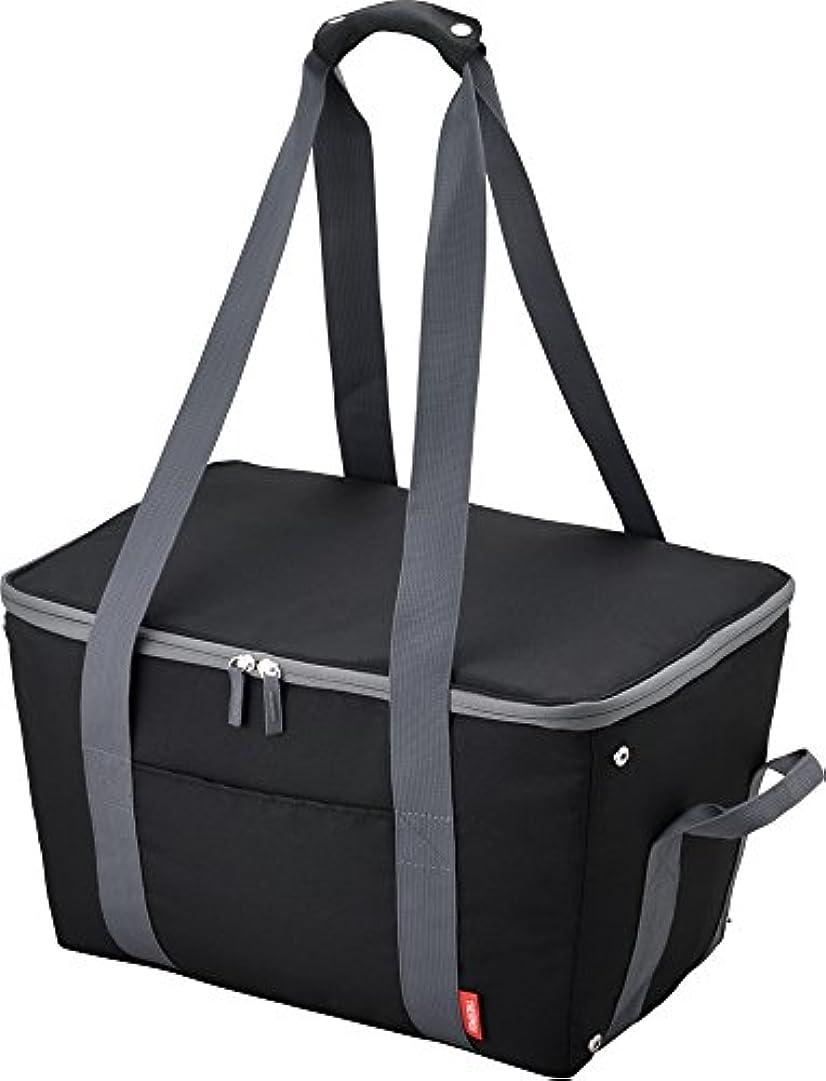 作者愛する考えたサーモス 保冷 買い物カゴ用バッグ 約25L ブラック REJ-025 BK