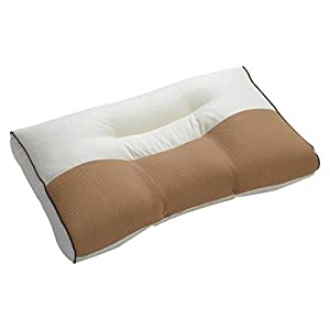 京都西川 枕 洗える 日本製 高さ調整可能 頸椎支持型まくら ベージュ 06-TPL0924