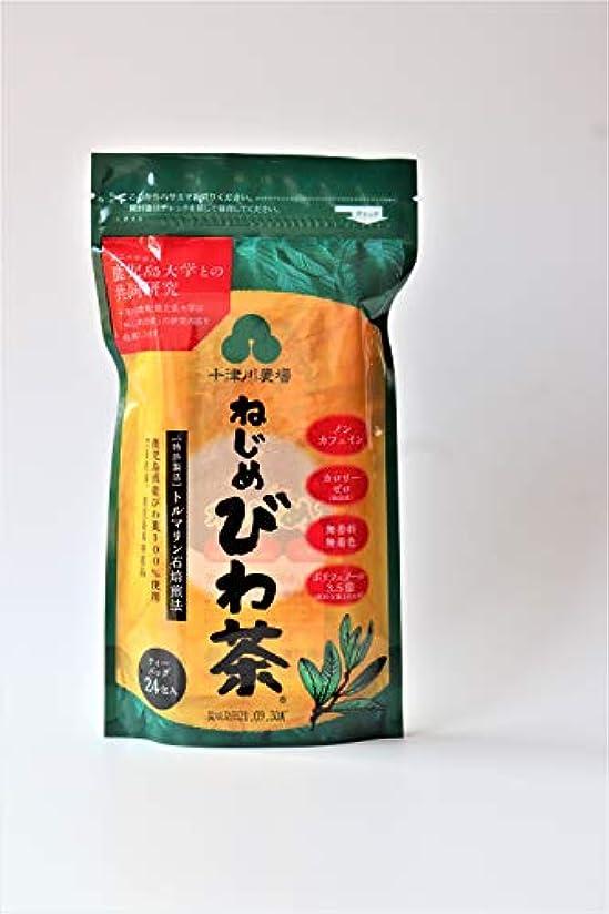 病気現実連帯十津川 ねじめ びわ茶24  2gx24袋