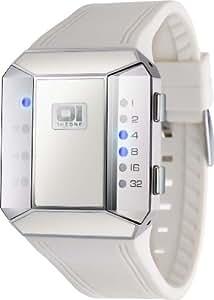 01 THE ONE (ゼロワン・ジ・ワン) 腕時計 SPLIT SCREEN スプリットスクリーンシリーズ SC119B3WH メンズ [正規輸入品]