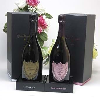 ドンペリ飲み比べセット(ドン ペリニヨン ロゼ750ml [正規輸入品・箱付き]ピンクのドンペリ ピンドン ドンペリニヨン ギフト箱付 白 正規輸入品750ml)
