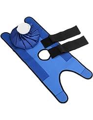Saikogoods 小型サイズの再使用可能なヘルスケアの膝の頭部の足の筋肉スポーツ傷害の軽減の痛みのアイスバッグ包帯が付いている無毒なアイスパック