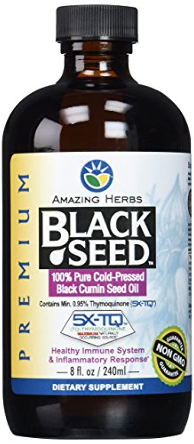 時制形成散逸海外直送肘 Black Seed Oil, 8 Oz