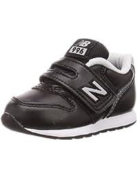 [ニューバランス] ベビーシューズ IV996 / IZ996(現行モデル) 12~16.5cm ブラック・ホワイト・グレー 運動靴 通学履き 男の子 女の子
