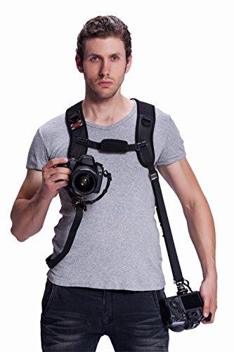 GGS カメラ用速写ストラップ フォトスピード ジャガー(ダブル) F7  速写ストラップ