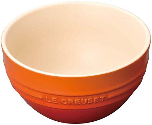 ルクルーゼ ライスボール 茶碗 耐熱 12cm オレンジ 910212-00-09