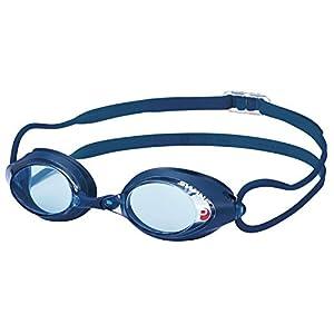 SWANS(スワンズ) 競泳用 スイミングゴーグル SRX PREMIUM ANTI-FOG FINA承認モデル SRX-NPAF ブルー×ネイビー(BL)