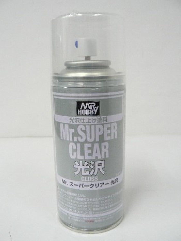 【 スーパークリア光沢 】( 溶剤系スプレー ) 表面仕上げコート材 #CMB513// マイカ塗装、パール塗装には欠かせない重要なスプレーです! Mr.ホビー