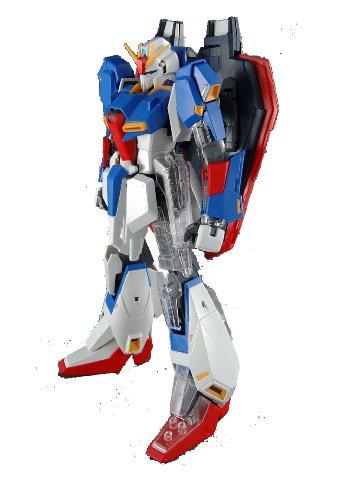 MG 1  100 MSZ -006 Zeta Gundam Ver.2.0 med begränsade tydliga delar bilen Suit Z