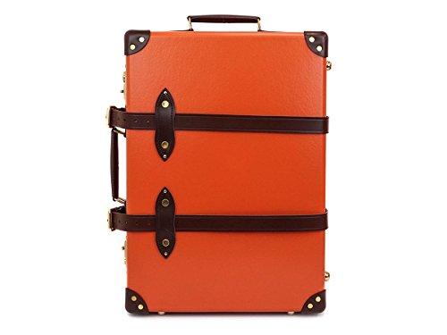 GLOBE TROTTER グローブトロッター Orange/Tan センテナリー 21インチ [並行輸入品]