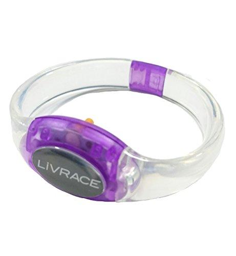 LIVRACE ライブレス LEDブレスレット パープル