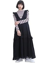 a4fea56984314 Amazon.co.jp  ブラック - ワンピース・チュニック   ワンピース・ドレス  服&ファッション小物