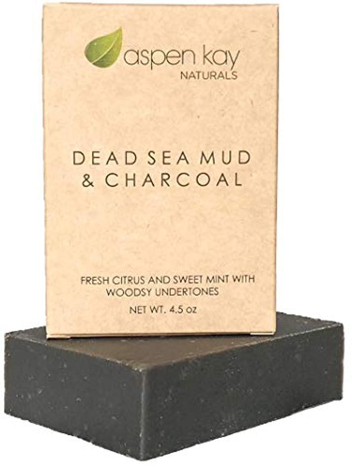 宣伝しばしばブッシュ洗顔 石鹸 ボディ フェイス オーガニック ビーガン ソープ シェービング 100%オーガニック&ナチュラルの死海泥石鹸 127g DEAD SEA MUD & CHARCOAL ヴィーガン