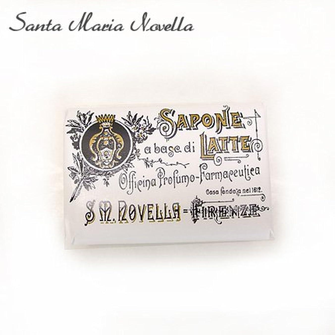 【Santa Maria Novella(サンタマリアノヴェッラ)】 石鹸 ミルクソープ カーネーション 100g (38940217) [並行輸入品]