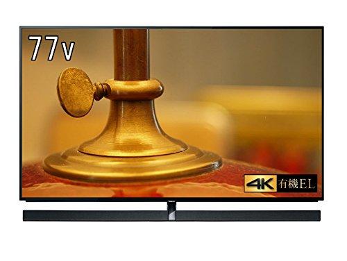 パナソニック 77V型 4K 有機ELテレビ Ultra HD プレミアム対応 3Wayシステムスピーカー搭載 VIERA TH-77EZ1000