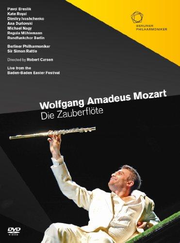モーツァルト : 歌劇 「魔笛」 KV620 (Wolfgang Amadeus Mozart : Die Zauberflote / Berliner Philharmoniker , Sir Simon Rattle) [2DVD] [輸入盤・日本語字幕・解説書付]