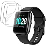 3-PACK smaate SOFT TPU Screen Protector for ID205L ID205 VeryFitPro Smart watch with 1.3inch Screen, Full Coverage, Anti-Scra