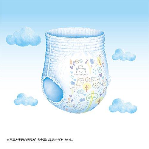 『[Amazonブランド]Mama Bear ふわふわベビーパンツ ビッグ(12-17kg) 48枚×3パック』の4枚目の画像