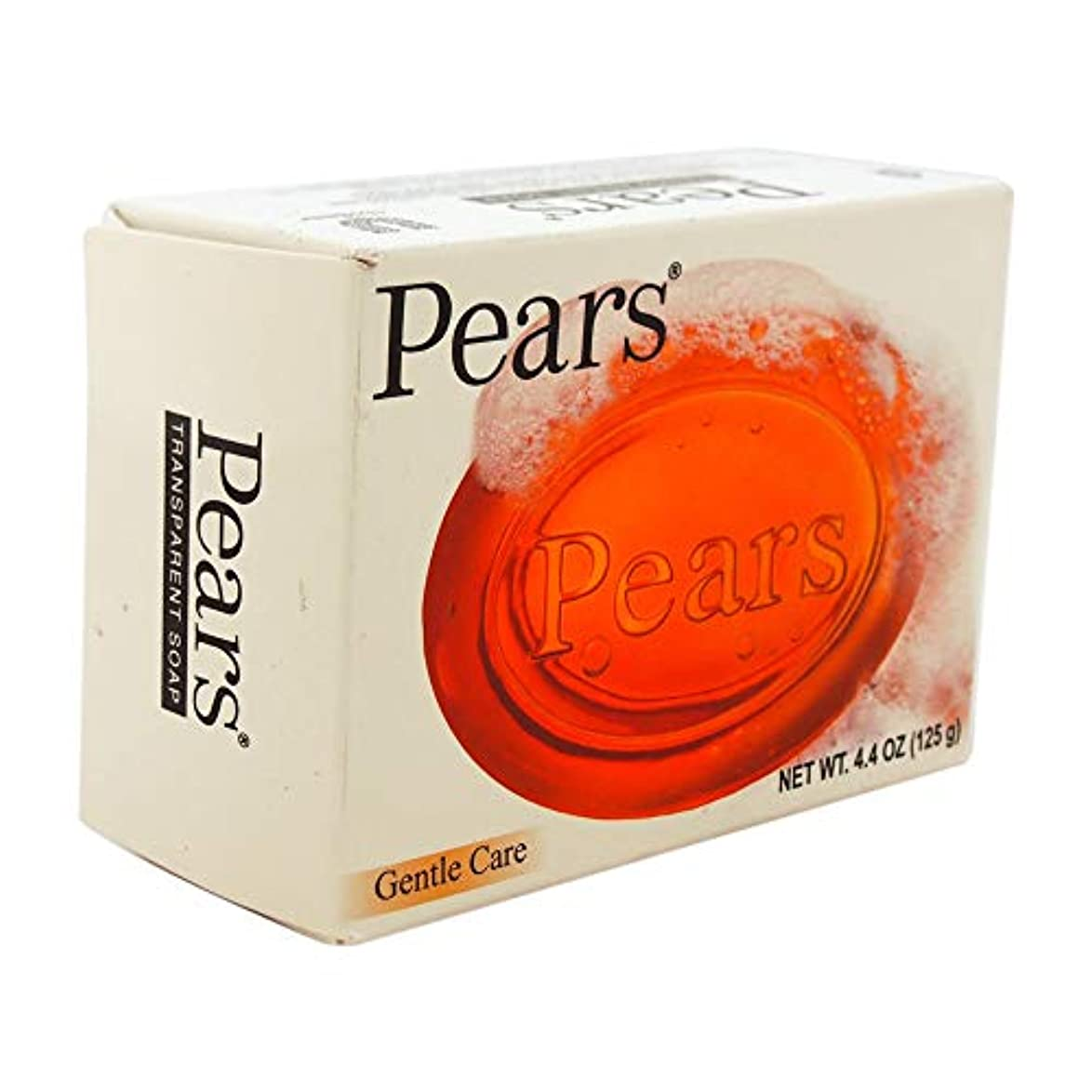 Pears ソープジェントルケア透明4.4オズ(5パック) 5パック
