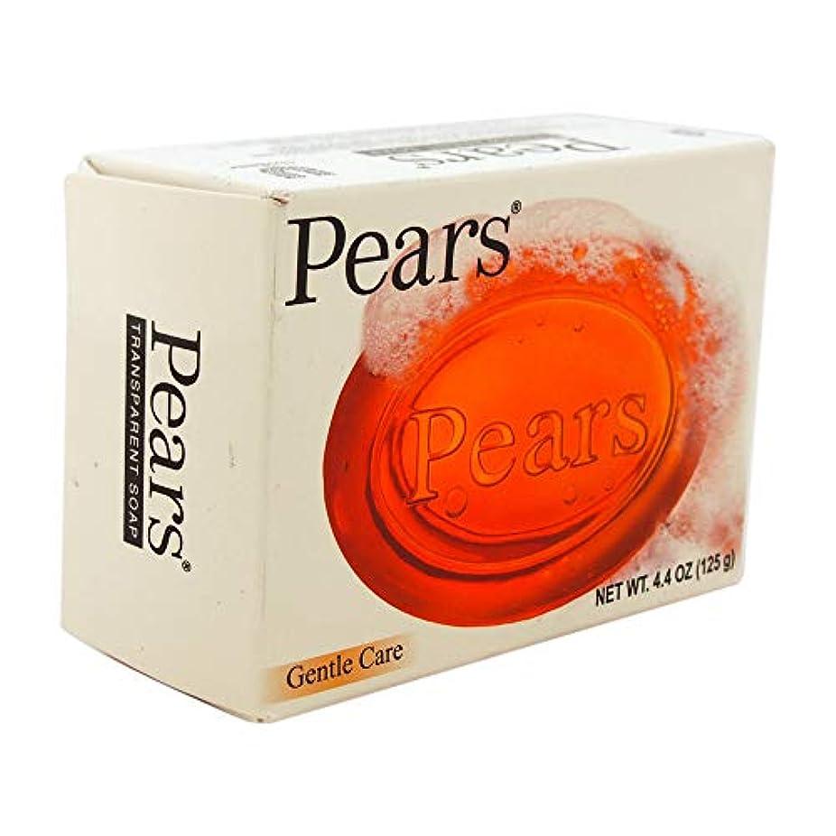 ヘア光沢場合Pears ソープジェントルケア透明4.4オズ(5パック) 5パック