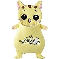 Tortor 1bacha(JP) 可愛い 猫ちゃん ベビー 赤ちゃん 寝袋 ソフト コットン シュラフ 黄色 にゃんにゃん 寝具 新生児 柔らかい 布団 動物 お出かけ 出産祝い 誕生日 プレゼント