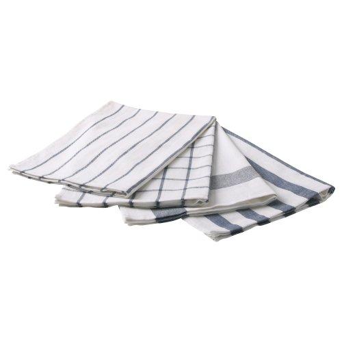 RoomClip商品情報 - ELLY キッチンクロス ホワイト ブルー 20172444 イケア IKEA