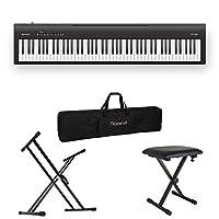 ROLAND FP-30 BK 電子ピアノ X型スタンド/X型椅子/キャリングケース付きセット