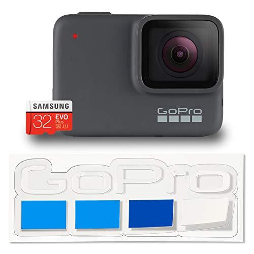 【国内正規品】GoPro HERO7 Silver + 認定SDカード + 非売品ステッカー セット CHDHC-601-FW 【GoPro公式限定】