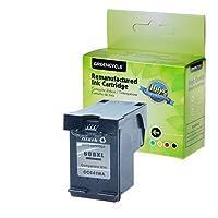 Greencycle 60x Lブラック/ 3色インクカートリッジと互換性HP cc641wn cc644wn Photosmart c4600C4610