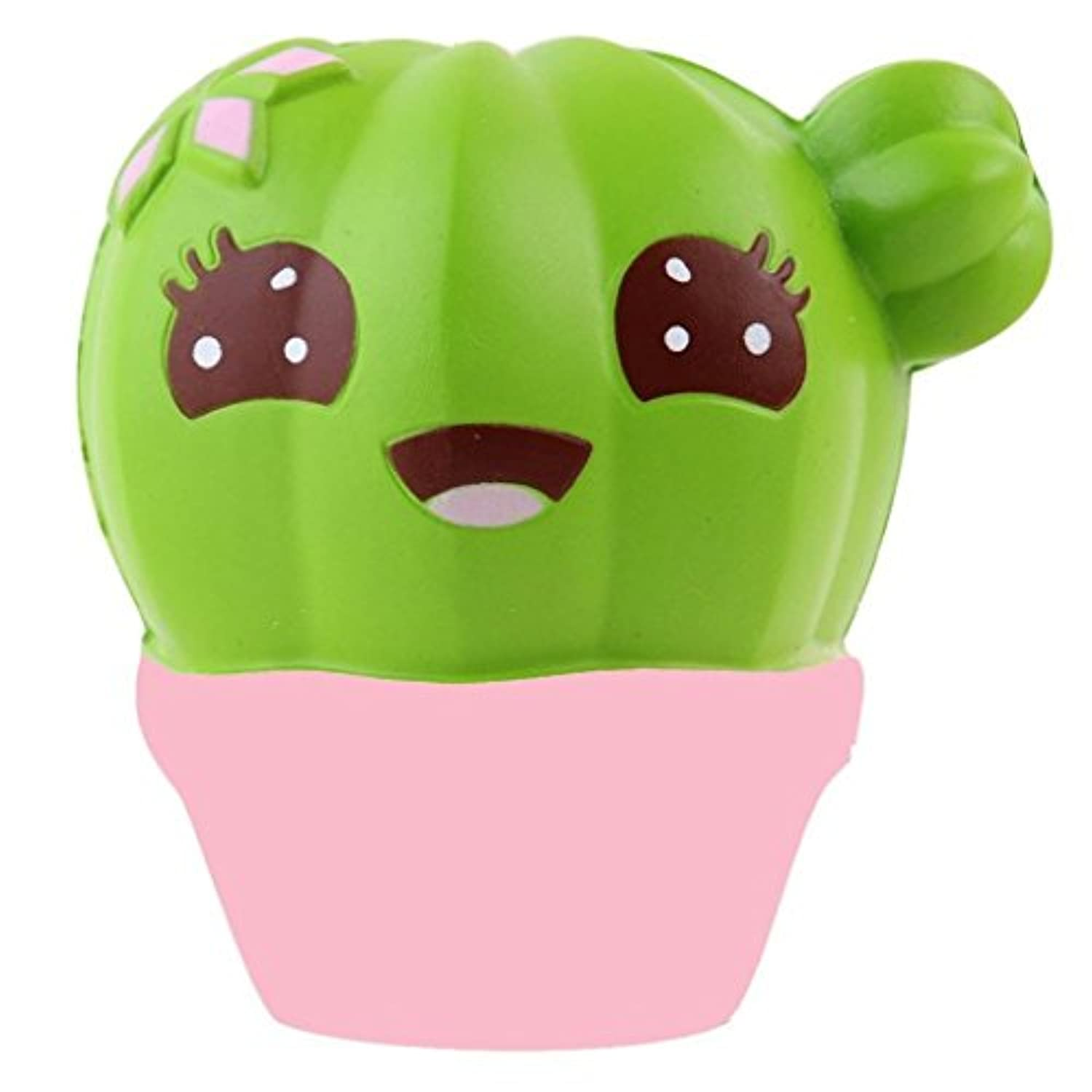 ouniceソフト応力Reliever玩具、サボテンクリーム香りつきSquishy Slow Rising Squeeze Toys Cure Gifts forキッズ大人
