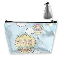 熱気球 化粧ポーチ メイクポーチ コスメポーチ 化粧品収納  軽い 軽量 防水 出張 旅行も便利 小物入れ 携帯便利 多機能 バッグ 小さな化粧品の袋