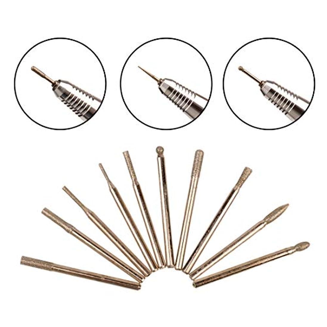 ひねり錫適応するネイルドリルビット 30本セット 研削ヘッド 爪 足の角質ケア ジェルネイル ネイルアート ネイルケア 収納ケース付き