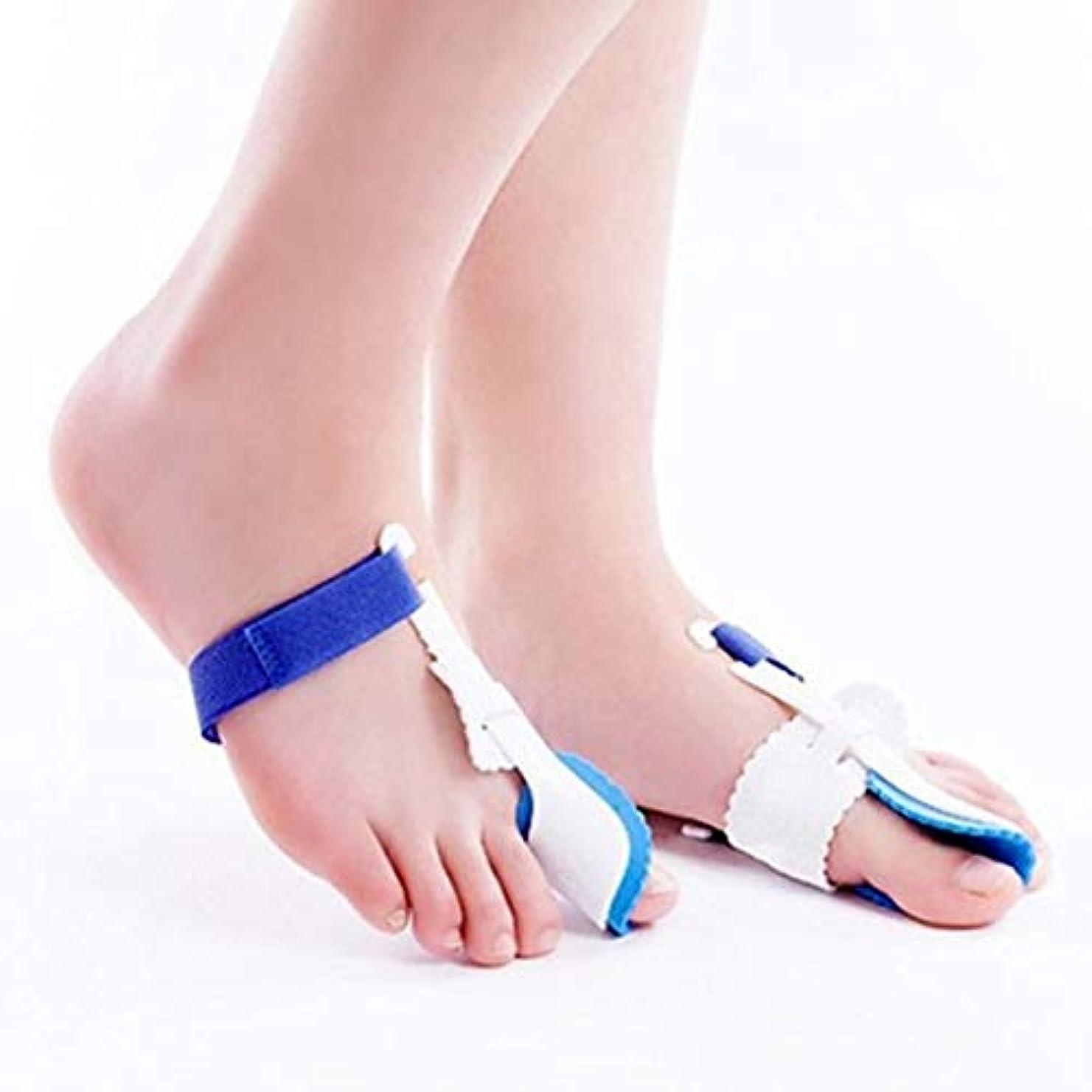 自治的許さないクリームUniversal Night Use Big Toe Bunion Device Splint Straightener Hallux Valgus Pro Braces Toe Correction Separator