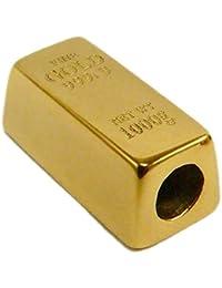 ゴールドバーチャーム – と互換性Majorブレスレット/ネックレスブランド名 – ステンレススチールメッキinゴールド