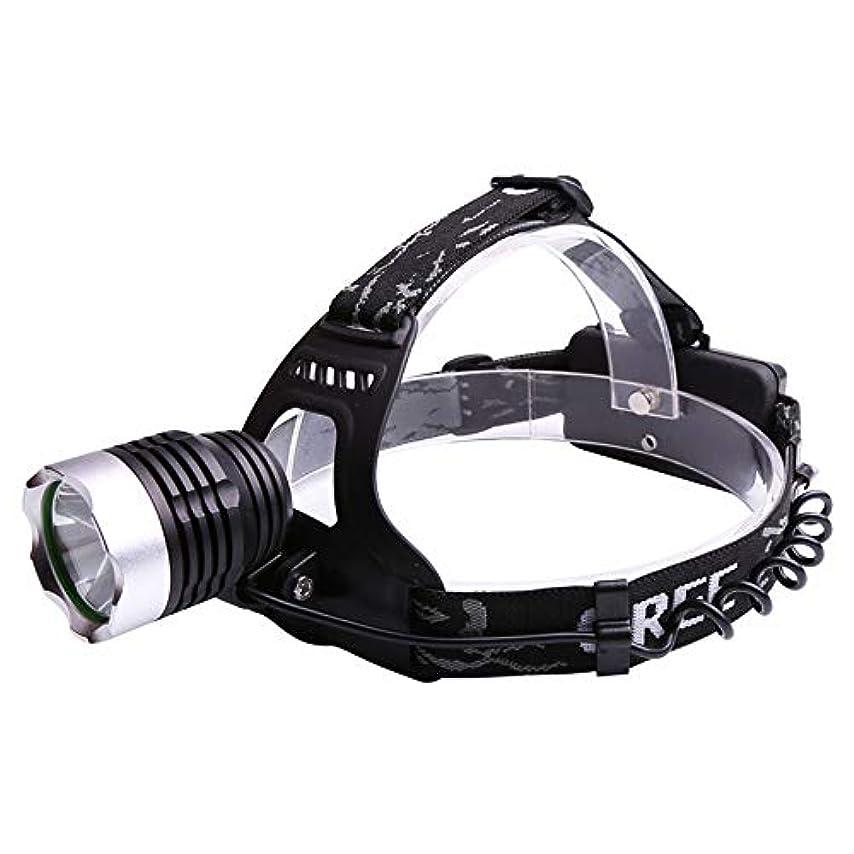 クレタそれる理解ハンティングヘッドライト, ロングショット屋外キャンプサーチライト T6 ヘッドライトマイナーのランプヘッドランプ LED ハンズフリー懐中電灯強い光200メートル