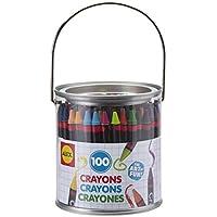 ALEX Toys アーティスト スタジオ 100クレヨン ノベルティペイント缶付き