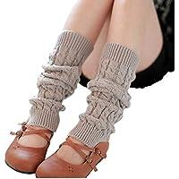 Ericotry Knit Winter Warm Leg Warmers Long Socks Boot Cuffs Topper Legging Pads Knee Brace Pads Knee Warmers Sleeve for Women Lady Girls Best Xmas Gift