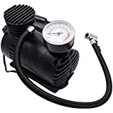 Mini Air Compressor Pump 12V, Tyre Pressure Inflator Portable Car Air compressors Electric Compact Tyre Pump With Pressure gauge 300 psi