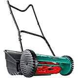 Bosch Manual Garden Lawn Mower AHM 38 G (38 cm Cutting Width, Grass Catcher Included, in Box)