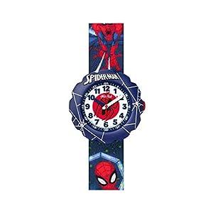 [フリック フラック]FLIK FLAK 腕時計 Friends & Heroesフレンズ&ヒーローズSPIDER-MAN IN ACTION (スパイダーマン・イン・アクション) キッズ