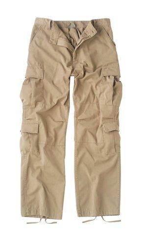 ROTHCO ミリタリーカーゴパンツ パラトルーパー 8ポケットパンツ (KHAKI(カーキ), XLサイズ(39-43インチ))