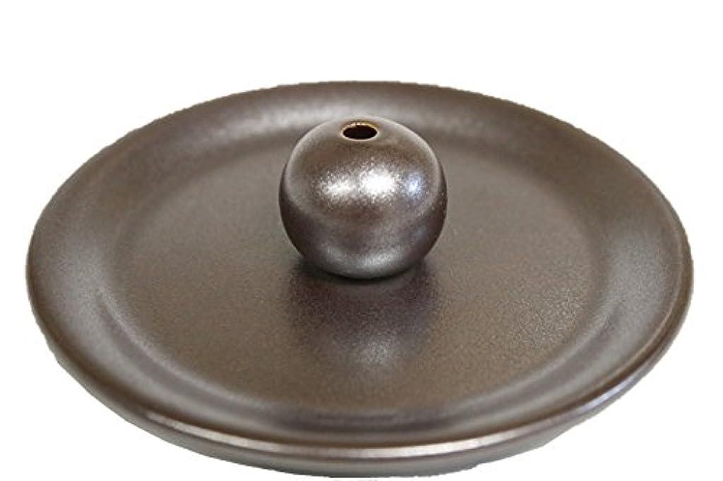 フォルダ批評飼い慣らす9-5 鉄器色 9cm香皿 日本製 製造?直売 お香立て お香たて 陶器