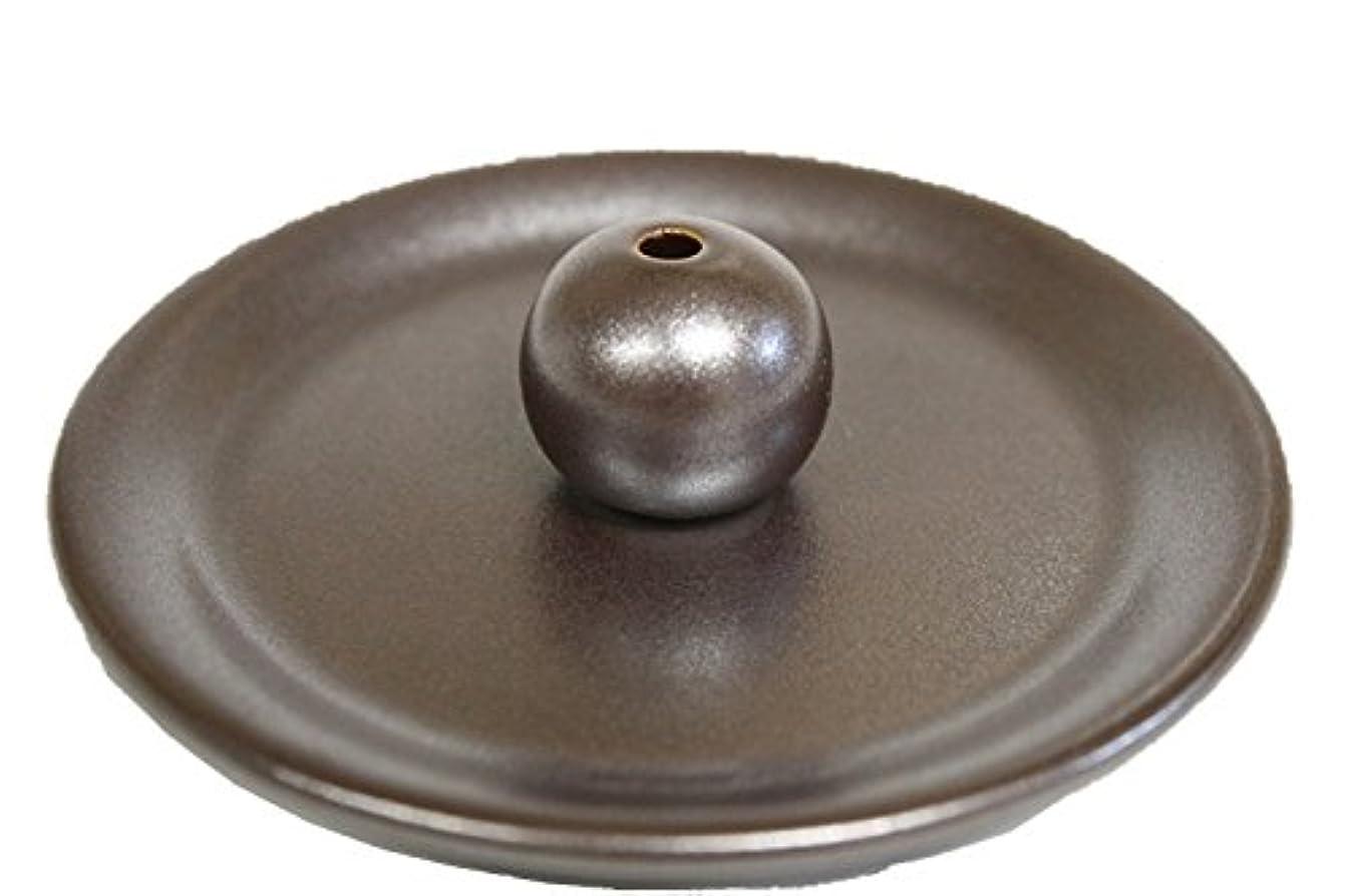 国民ティーム銀9-5 鉄器色 9cm香皿 日本製 製造?直売 お香立て お香たて 陶器
