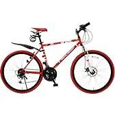 DOPPELGANGER(ドッペルギャンガー) 折りたたみ自転車 805ROSSO CROSS