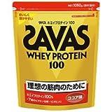【明治 ザバス(SAVAS)】ホエイプロテイン100 ココア味 1,050g + Morning Flex