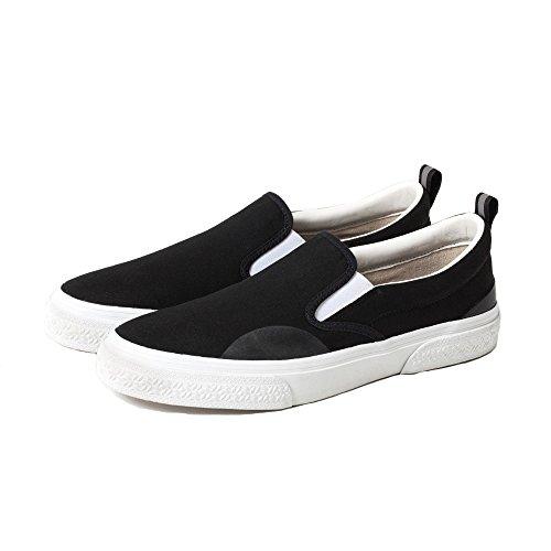 [SLACK]スラック スラックスニーカー SLACK スニーカー シューズ 靴 CALMER (23cm, BLACK×WHITE)